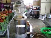 リンゴする機械